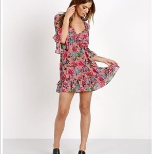 For Love and Lemons Churro Mini Dress